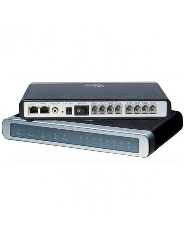 GXW4108 8 port FXO, 2 RJ45