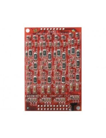 1X400MF FXO Quad module