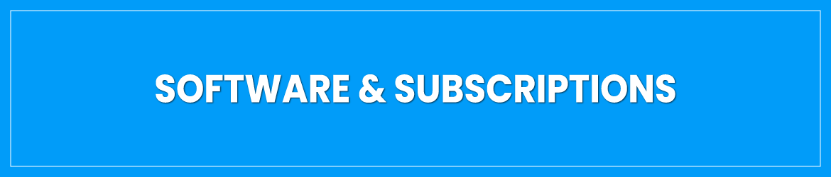 Software & Subscriptions