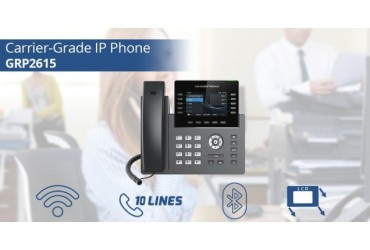 The NEW Grandstream GRP2615 Carrier-Grade IP Phone & GXV3350 High-End Smart IP Video Phone