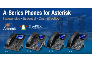 A-Series IP phones for Asterisk