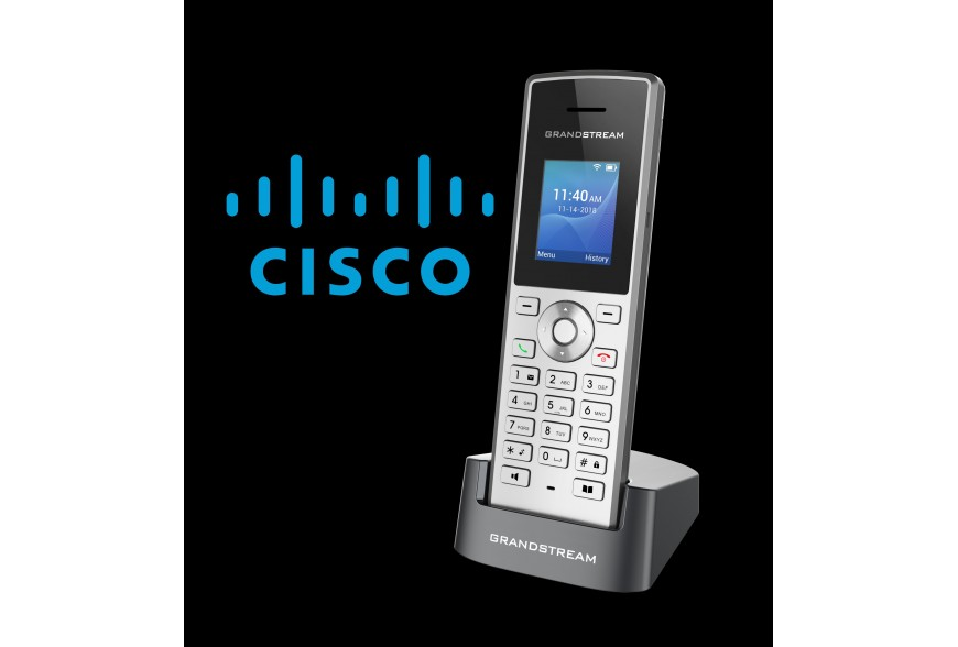 Grandstream's New WP810 Cordless Wi-Fi IP Phone Now Compliant with Cisco's BroadWorks